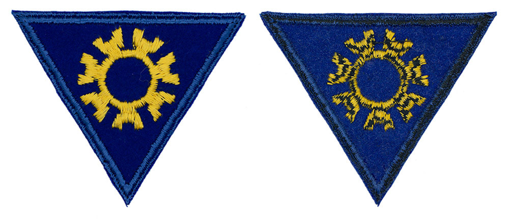 English made WWII U.S. Army Air Corps Engineering Specialist Felt Sleeve Insignia